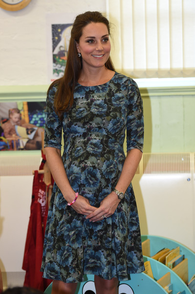 Kate Middleton - The Duchess Of Cambridge Visits Action For Children's Cape Hill Children's Centre