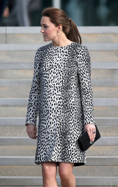 Kate Middleton Catherine, Duchess of Cambridge leaves the Turner Contemporary Art Gallery on March 11, 2015 in Margate, England.
