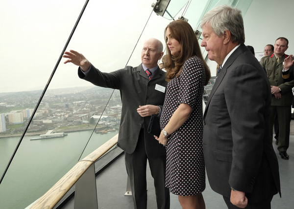 Kate Middleton - The Duchess Of Cambridge Visits Portsmouth