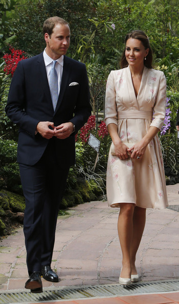 Kate Middleton Wore a Jenny Packham Dress in Honor of Princess Diana