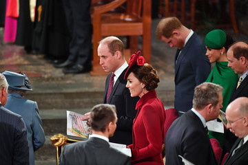 Kate Middleton Earl Of Wessex Commonwealth Day Service 2020
