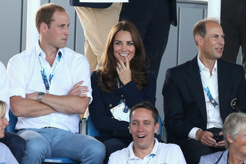 Kate Middleton Earl Of Wessex Arrivals at the 20th Commonwealth Games