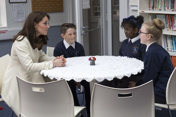 Kate Middleton The Duchess Of Cambridge Visits Family Links