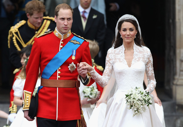 Royal Wedding Carriage Procession To Buckingham Palace And Departures