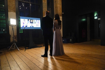 Kate Middleton Prince William The Duke And Duchess Of Cambridge Attend The London 2021 Earthshot Prize Awards Ceremony