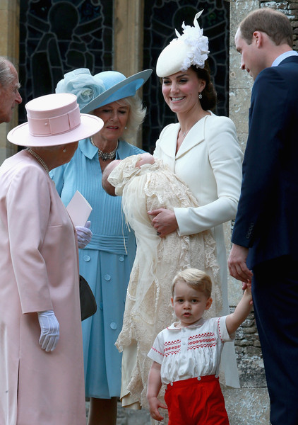 0b83f65be8681 Kate Middleton and Queen Elizabeth II Photos»Photostream · Pictures · The  Christening of Princess Charlotte of Cambridge