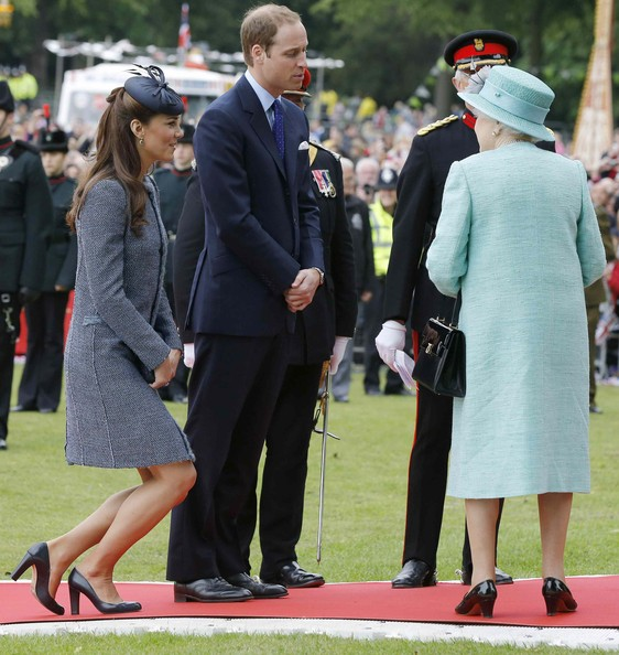 Kate Middleton Photos Photos - Queen Elizabeth II and The Duke And ...
