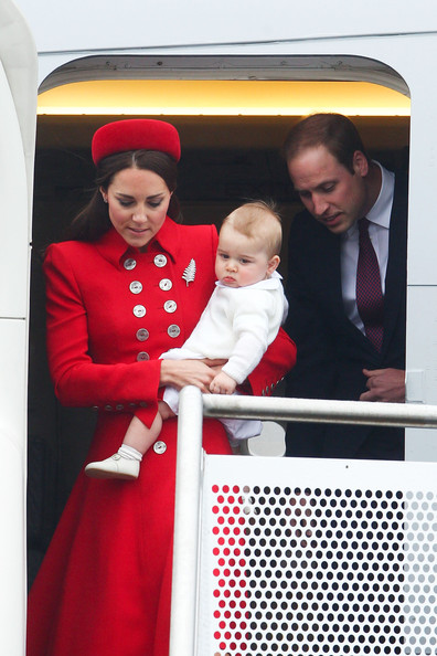 The Royal Family Arrives in New Zealand