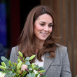 Kate Middleton The Duke And Duchess Of Cambridge Attend Shout's Crisis Volunteer Celebration Event