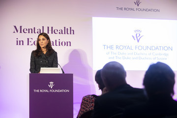 Kate Middleton Duchess Of Cambridge Attends 'Mental Health In Education' Conference