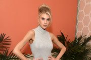 Charlotte McKinney attends The Kate Somerville Clinic Celebrates 15 Years On Melrose at Kate Somerville on October 10, 2019 in Los Angeles, California.
