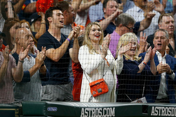 Kate Upton Divisional Round - Cleveland Indians vs. Houston Astros - Game Two