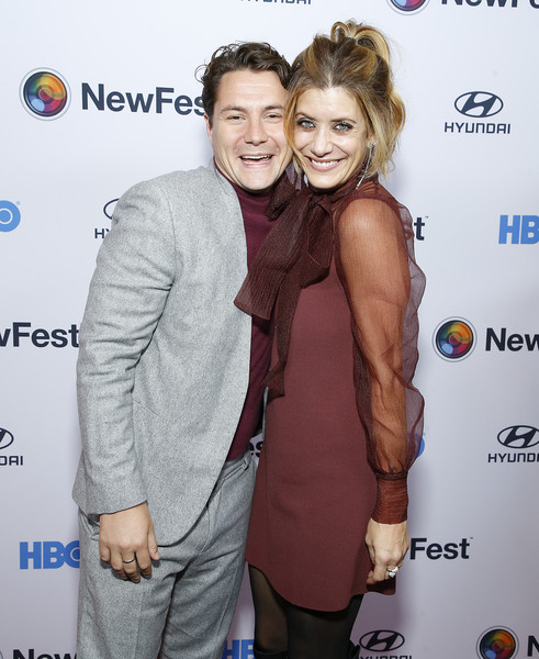 """""""Sell By"""" - NewFest Film Festival Opening Night [event,premiere,muscle,smile,carpet,augustus prew,kate walsh,sell by,new york city,sva theater,newfest film festival opening night,screening]"""