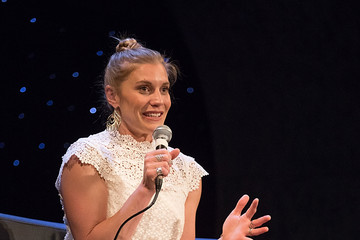 Katee Sackhoff Closing Night Reunion of 'Battlestar Galactica'