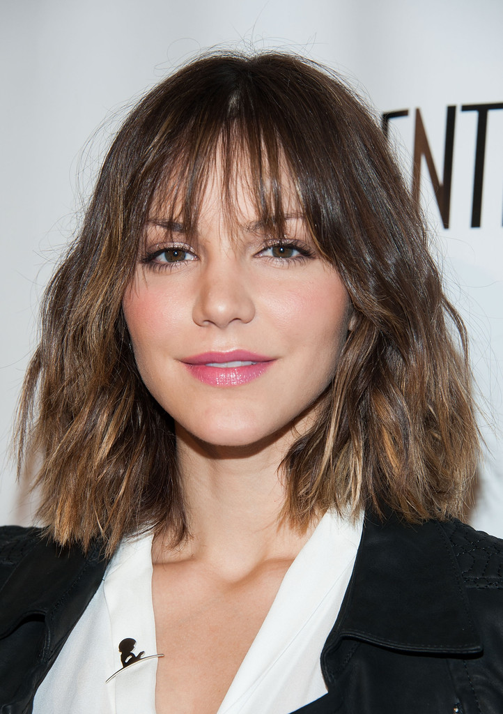 Hair Trend of the Moment: The Wavy 'Lob'
