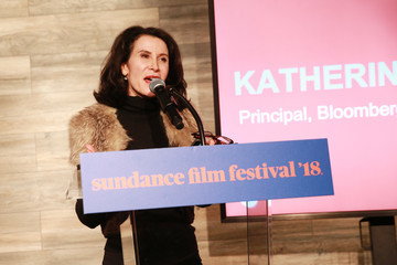 Katherine Oliver 2018 Sundance Film Festival - Catalyst Reception