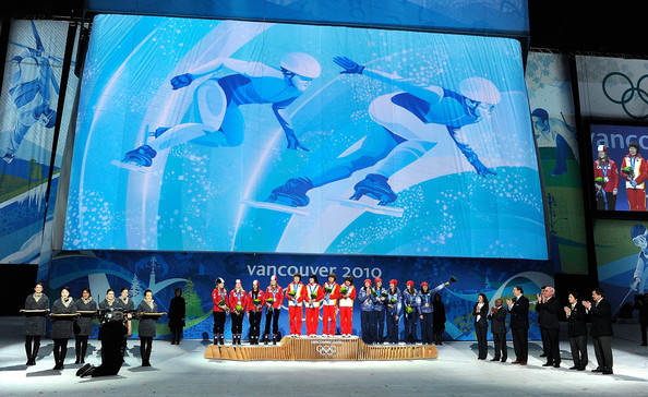 Vancouver Medal Ceremony - Day 14