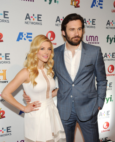Katheryn Winnick and clive standen