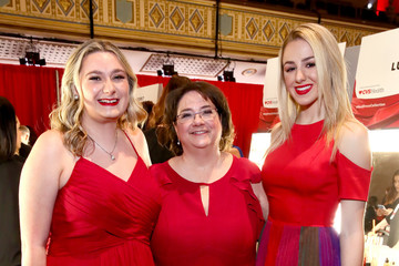 Kathleen Straley The American Heart Association's Go Red For Women Red Dress Collection 2019 - Backstage