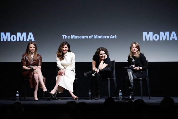 MoMA's Contenders Screening Of 'Private Life' [contenders screening of ``private life,event,performance,fashion,design,talent show,stage,convention,competition,fashion design,performing arts,tamara jenkins,elizabeth weitzman,actors,director,kayli carter,stage,l-r,moma,contenders]