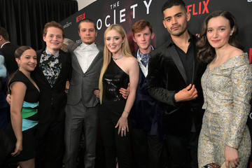 Kathryn Newton Netflix's 'The Society' Premiere