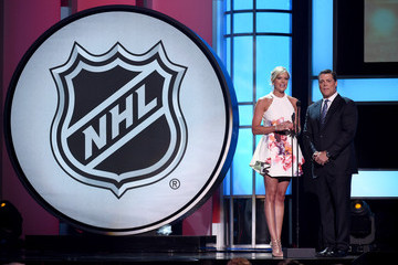 Kathryn Tappen Guests Attend the 2015 NHL Awards Show