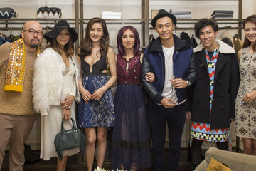 Kathy Chow Burberry Galaxy Macau Store Opening Event