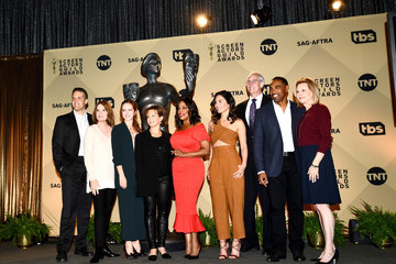 Kathy Connell Daryl Anderson 24th Annual Screen Actors Guild Awards Nominations Announcement