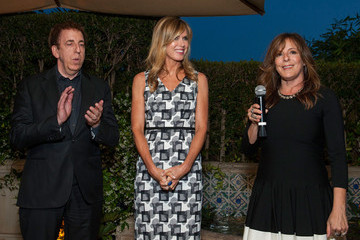 Kathy Freston Dean Ornish Book Party for Arianna Huffington's New Book