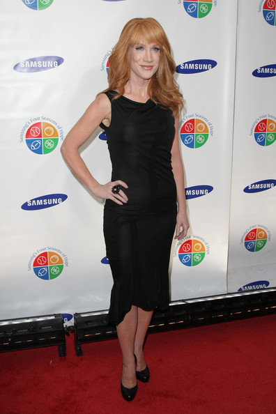 Samsung's 9th Annual Four Seasons of Hope Gala - Arrivals [clothing,dress,red carpet,carpet,little black dress,cocktail dress,flooring,footwear,leg,long hair,kathy griffin,arrivals,comedian,new york city,cipriani wall street,four seasons,samsung,hope gala]