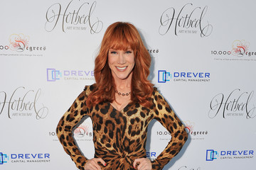 Kathy Griffin Hotbed Benefit Hosted