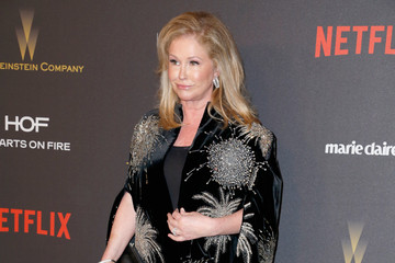Kathy Hilton 2016 Weinstein Company And Netflix Golden Globes After Party - Arrivals