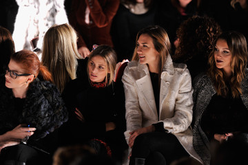 Katie Cassidy Dennis Basso - Front Row - Mercedes-Benz Fashion Week Fall 2014