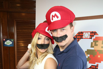 Katie Cassidy The Nintendo Lounge on the TV Guide Magazine Yacht at Comic-Con International 2015