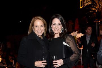 Katie Couric Courteney Monroe National Geographic 'The Story of God' With Morgan Freeman World Premiere