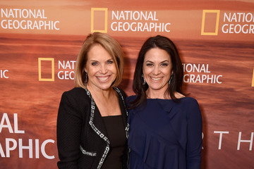 Katie Couric Courteney Monroe 2018 National Geographic Upfront