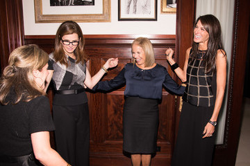 Katie Couric Dyllan McGee AOL MAKERS' Emmy Nomination at the Clocktower