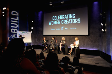 Katie Couric AOL Build, Makers and Sony Celebrate Women Creators Panel