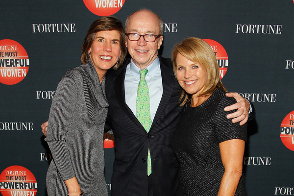 Fortune's Most Powerful Women Summit - Day 1 [red,event,premiere,photography,carpet,katie couric,alan murray,pattie sellers,l-r,mandarin oriental hotel,washington dc,fortune,most powerful women summit]