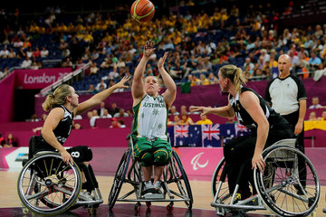 Katie Hill 2012 London Paralympics - Day 9 - Wheelchair Basketball