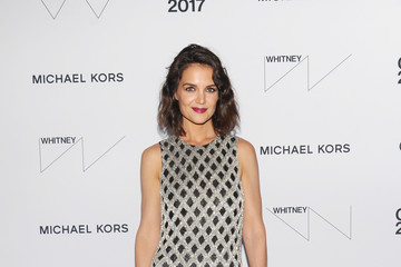 Katie Holmes Whitney Museum Celebrates Annual Spring Gala and Studio Party 2017