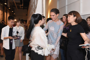 Katie Holmes Lanyu - Backstage - September 2017 - New York Fashion Week: The Shows