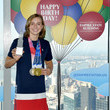Katie Ledecky Empire State Building Welcomes Home The Athletes Who Competed In The Games In Tokyo