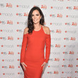 Katie-Lee Joel American Heart Association Go Red For Women Red Dress Collection 2015 Presented By Macy's At Mercedes-Benz Fashion Week - Red Carpet