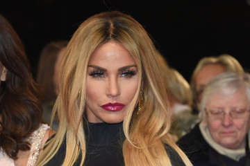 Katie Price National Television Awards - Red Carpet Arrivals