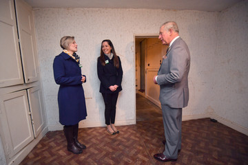 Katie Taylor The Prince Of Wales And Duchess Of Cornwall Visit Cheshire
