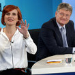 Katja Kipping Election Night: Candidates Face Television Interview Following Elections