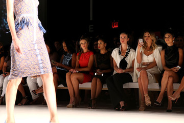 Katrina Bowden Pamella Roland - Front Row - Mercedes-Benz Fashion Week Spring 2015