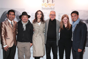 Katy Clark Angelina Jolie Attends 'Bangsokol: A Requiem for Cambodia' at BAM (Brooklyn Academy of Music)