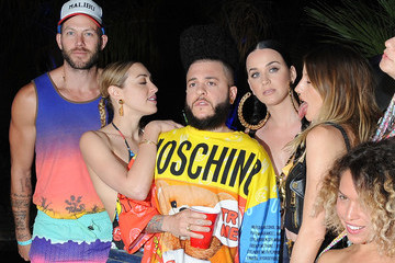 Katy Perry Moet Ice Imperial At Moschino's Late Night Hosted By Jeremy Scott At Coachella 2015